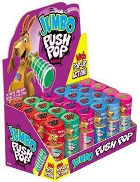 Push Pops - Jumbo Assorted (Pack of 18)