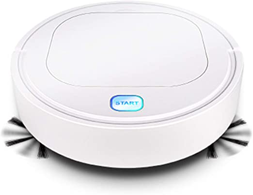 DERCLIVE Robot Limpiador de Pisos Inteligente Aspirador 1800Pa ...