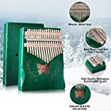 AXHJ Kalimba 17 Keys Thumb Piano Butterfly Include
