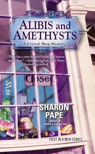 Alibis and Amethysts (Crystal Shop Mystery)