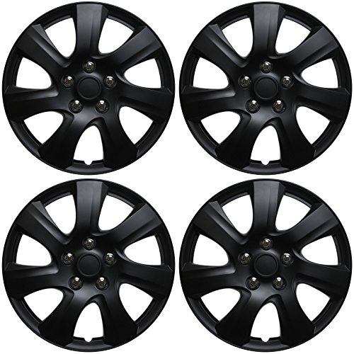 16 hubcaps black - 4