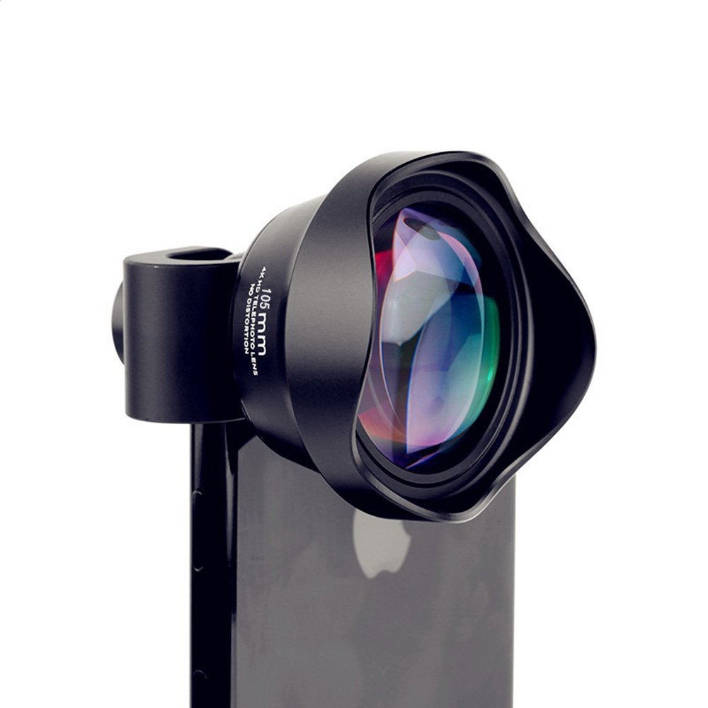 Camera Lens for iPhone,Anamorphic Lens iPhone Lens,iPhone Camera Lens Kit,Macro Lens 105mm Telephoto Lens Cell Phone Lens for iphone 8/7/6s/6 plus,Samsung, Android,Smartphones