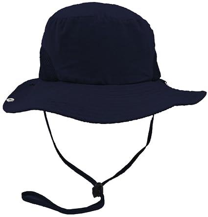 0d4865243d8ca Amazon.com   Eqoba Men Women s Outdoor UV protection Safari Sun Hat ...