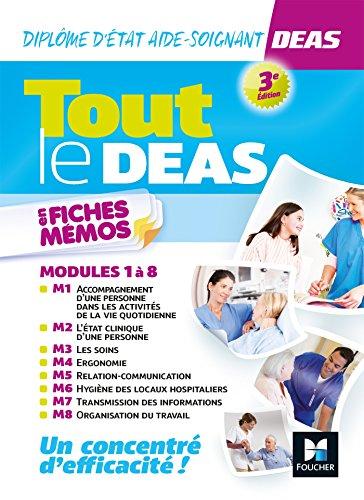 Tout le DEAS en fiches mémos - IFAS - Diplôme Etat Aide-soignant - 3e éd - Révision (French Edition)