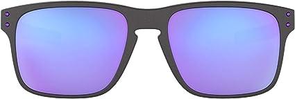 Oakley Holbrook Mix 938402 Gafas de sol, Gris, 57 para Hombre