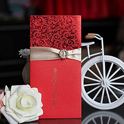 Amazon Com Chinese Wedding Invitation Pack Of 10 Printable With
