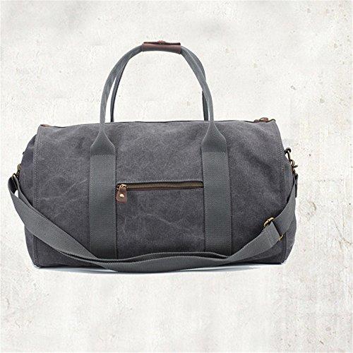 Ybriefbag Unisex Canvas Traveling Bag, Retro, Large Capacity Traveling Bag, Canvas Hand-held Men's Traveling Bag. Vacation by Ybriefbag (Image #2)