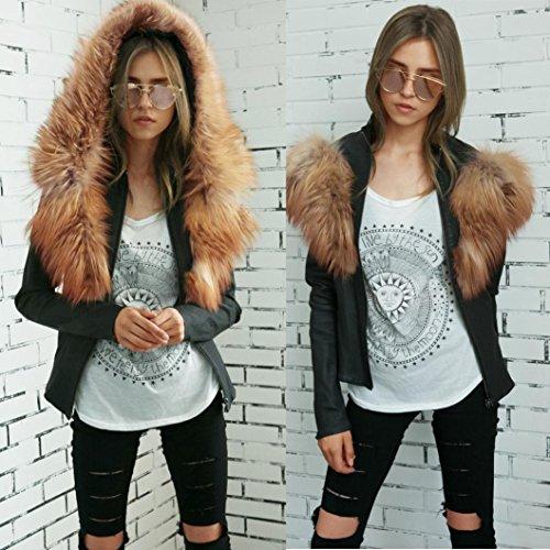 Petite overdose Jacket Cuir Capuche Manteau Style Outwear Noir Hiver Femme À Veste Perfecto Racing Sweat UHApUqrx
