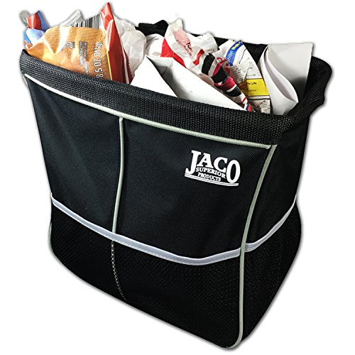 JACO Superior Products JACO TrashPro Car Trash Can - Premium Leakproof Garbage/Litter Organizer (Superior Car)