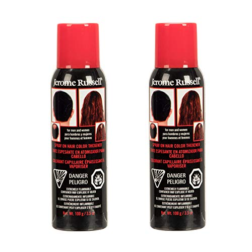 Jerome Russell Spray On Hair Color Thickener 3.5oz - Dark Brown (2 -