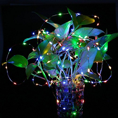 LUCKLED Outdoor Solar Powered String Lights, 120 LED Multi - Import It All