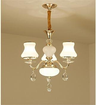 DIDIDD Decke Kronleuchter Moderne Einfache American Style Kristall  Kronleuchter Kreative Led Kronleuchter Wohnzimmer Esszimmer