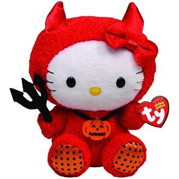 Amazon com: Ty Beanie Baby Hello Kitty Dracula: Toys & Games