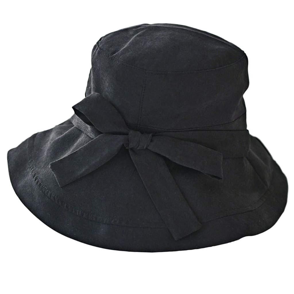 Mymyguoe Sombrero del Pescador del Verano de Mujeres ...
