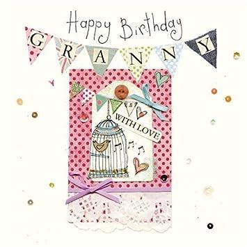 Amazon.com: Cool Britannia Granny Tarjeta de cumpleaños ...