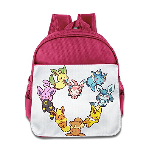 She Hulk Costume Shirt (Lovely Baby Eevee Family Heart Children Pink School Bag Backpack For 1-6 Years Old)