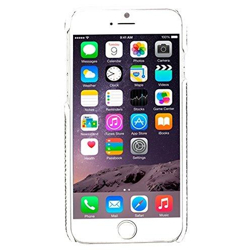 Mxnet Für iPhone 6 Snakeskin Pattern Paste Skin Hard Case rutschsicher Telefon-Kasten ( Color : White )