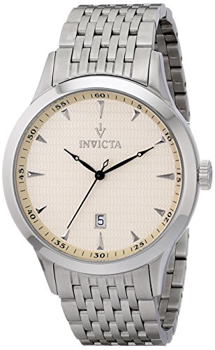Invicta-Mens-12225-Vintage-Analog-Display-Swiss-Quartz-Silver-Watch