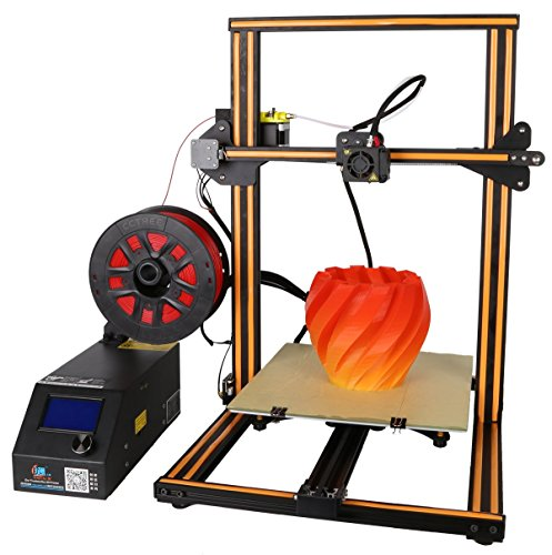 Creality 3D Printer CR-10S New Version with Dual Z Axis Leading Screws Filament Detector ()