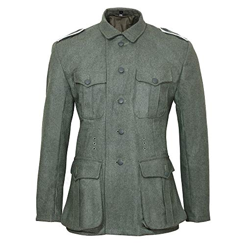 17c16a82b2a61 Epic Militaria Replica WW2 German M40 Field Grey Wool Tunic (44 inch)