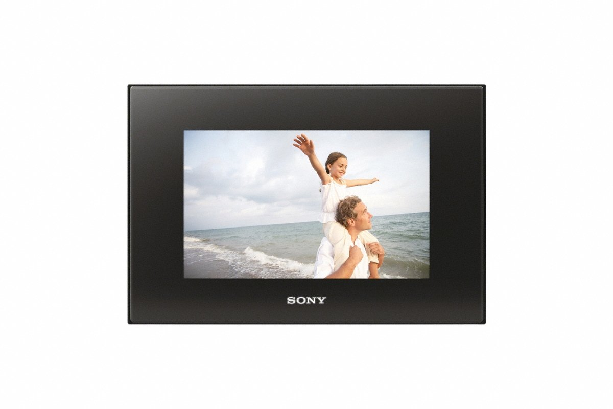 Sony DPF-D82 8-Inch LCD WVGA 15:9 Diagonal Digital Photo Frame (Black) by Sony