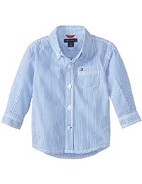Baby Boys' Long Sleeve Tommy Stripe Shirt