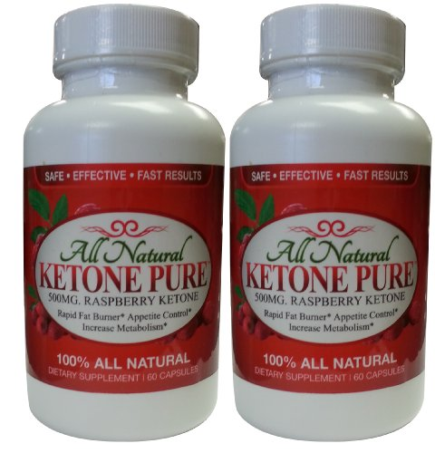 # 1 Номинальная Herbal Nutrition Кетоновые Чистые | 500мг всех природных малины кетонов Extract | 60 капсул Бутылки | Купить получить один бесплатный |! веганской капсулы | Бесплатная доставка!