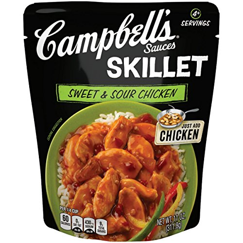 Campbell's Skillet Sauces, Sweet and Sour Chicken, 11 Ounce (Packaging May Vary) (Pork Chops And French Onion Soup Mix)