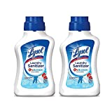 Lysol Laundry NPALj Sanitizer Additive, Crisp Linen, 41 Ounce (2 Pack)