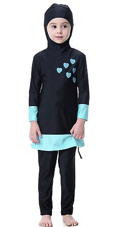 letzte Auswahl begrenzte garantie Online-Verkauf TianMai Mädchen Kinder Muslimische Bademode Islamische Schwimmanzug  Badeanzug Burkini Muslim Swimwear