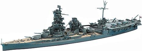 Hasegawa 1//700 Scale IJN Battleship Hiei Waterline Series Plastic Model Building Kit #49110