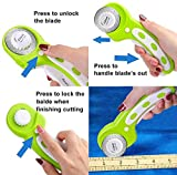 45mm Rotary Cutters, for Crafting Sewing