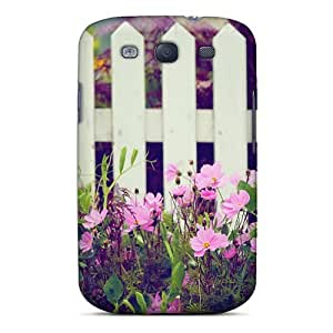 Excellent Galaxy S3 Case Tpu Cover Back Skin Protector Picturesque Garden