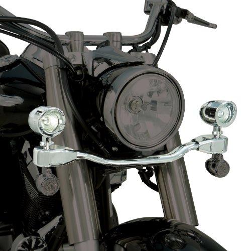 Show Chrome Accessories 63-206 Mini Elliptical Driving Light Bar - Mini Chrome Show