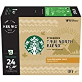 Starbucks True North Blend K-Cup Pods 24 Count, True North, 24 Count