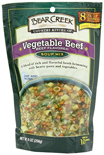 - Bear Creek Vegetable Beef Soup Mix (Pack of 2) 9 oz Bags