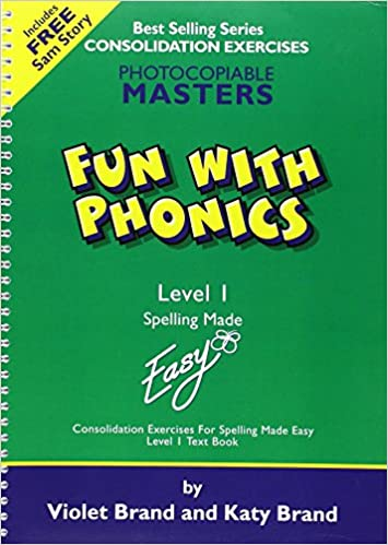 Fun with Phonics: Worksheets Level 1 (Spelling Made Easy): Violet ...