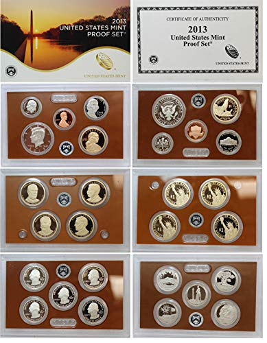 2013-S US Mint Proof Set - Silver Proof Mint Us Set