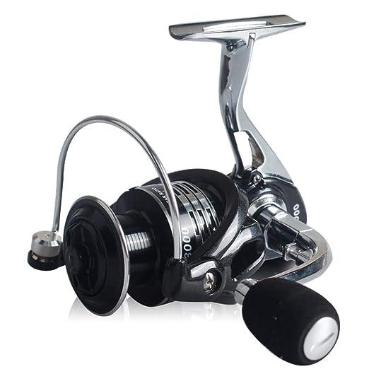 Gapless Full Metal Carrete de Pesca 13 + 1, Light Smooth Bass Gear ...