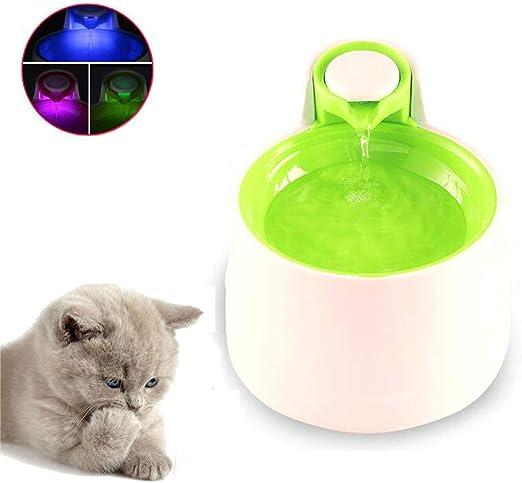 D1X2D3 Fuente para Gatos, Bebedero Gatos Automático, Fuente de ...