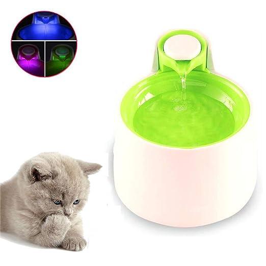 D1X2D3 Fuente para Gatos, Bebedero Gatos Automático, Fuente ...