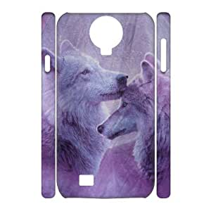 Wolf Customized 3D Cover Case for SamSung Galaxy S4 I9500,custom phone case ygtg601068