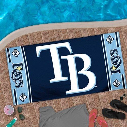 Wincraft MLB Tampa Bay Rays Beach Towel, 30