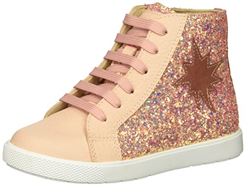 he Rock Star Ankle Boot, Pink Glitter, 9 M US Toddler ()