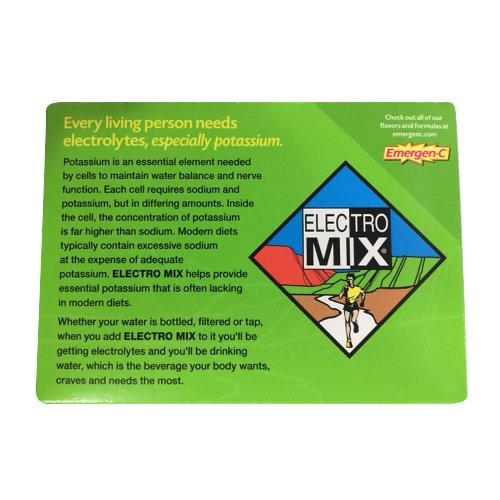 Emergen-C Electro Mix, Lemon Lime, 30-count 4.2 oz/120 g (Pack of 2) ()