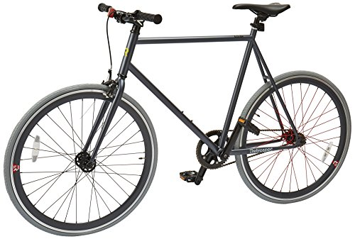 (Retrospec Mini Mantra Fixie Bicycle with Sealed Bearing Hubs and Headlamp, Graphite, 60cm/X-Large )