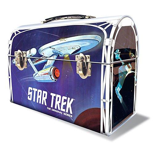 Star Trek Lunch - Round 2 Star Trek: The Original Series: 1:1000 Enterprise Model Kit with Lunchbox Packaging