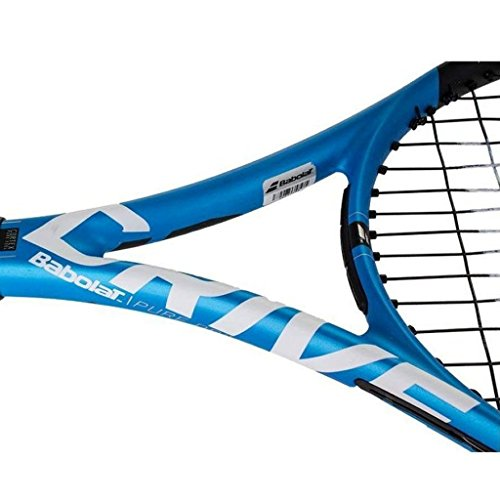 Babolat 2018 Pure Drive Lite Tennis Racquet - Quality Babolat String (4-1/8) Babolat Aeropro Control Racquets