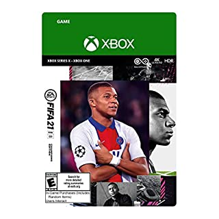 FIFA 21 Champions Edition  – Xbox Series X|S – Xbox One [Digital Code]