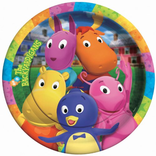 Backyardigans Dinner Plates (The Backyardigans Games Halloween)